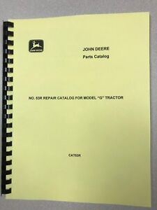 John Deere G Unstyled Tractor Parts Manual Free Shipping