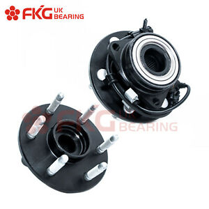 Front Wheel Bearing Hubs For Chevy Silverado 1500 Tahoe Escalade 4x4 6lug 515036