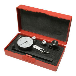 Test Dial Indicator 0005 Inch Graduation Reading 0 15 0 With Padded Case