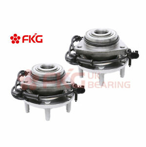 2 Front Wheel Bearing Hubs For Chevy Trailblazer Gmc Envoy Bravada Rainer 513188