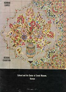 Book Catalogue Kerman Carpet Designs Exhibition February 14th May 5th 1978
