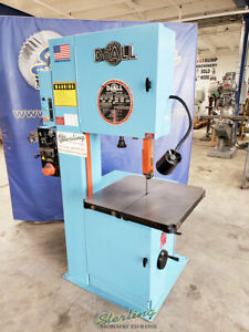 20 Used Doall Vertical Contour Bandsaw With Welder Mdl 2013 v A5503