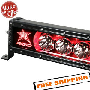 Rigid Industries 210023 Radiance Plus 10 Led Light Bar With Red Backlight