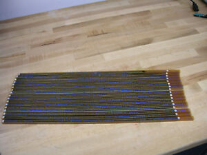 Lot Of 421 High quality Burndy 18 pin Dip Ic Sockets 0 3 Row 0 1 Pitch