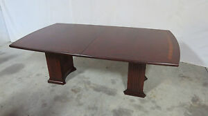 Henkel Harris Modern Conference Dining Room Table Mahogany