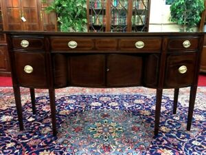 Inlaid Mahogany Hepplewhite Sideboard Beautiful Delivery Available