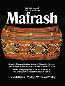 Book Mafrash Woven Transport Packs As An Art Form Among The Shahsevan And