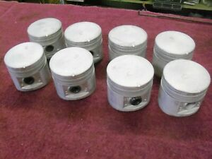 1958 1959 Ford 332 Pistons Standard Bore Nos B8a 6108 B9a 6108 a