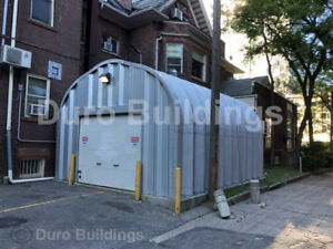 Durospan Steel 20x25x16 Metal Building Diy Auto Garage Workshop Factory Direct