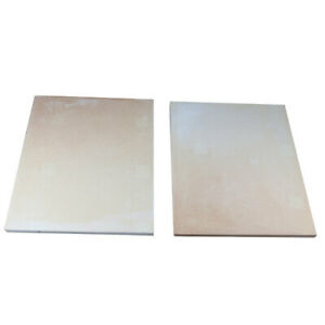 Set Of 2 Nsf Pizza Oven Stones 26 7 8 X 36 x1 For Bakers Pride Model E 541