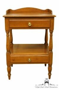 Willett Furniture Countryside Solid Cherry Traditional Style 21 Accent End T