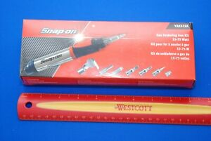 New Snap On Tools Butane Soldering Iron Kit 15 75 W Yaks22a Ships Free