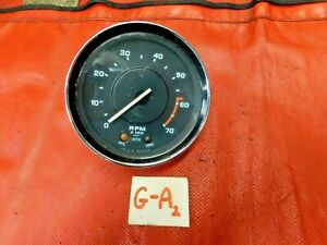 Triumph Tr6 Smiths Tachometer 73 76 Tested