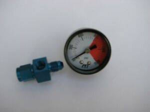 Be Smart Buy This New Nitrous Gauge 4an Blue Swivel Fitting Nos Nx Zex Holley