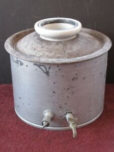 Antique Cordley Hayes Ny Water Dispenser Cooler Crock Original Vintage