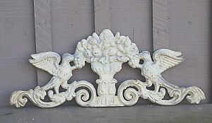 Old Vintage Cast Iron Finial Decorative Architectural Salvage Barn Gate Fence