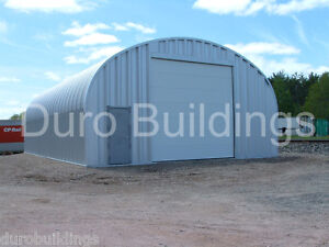 Durospan Steel 25x44x14 Metal Building Kits Garage Workshop Sheds Factory Direct