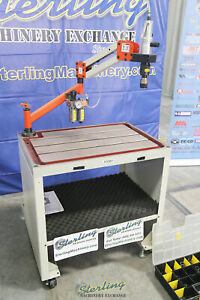 0 11 To 1 tapping Range Used demo Machinery Baileigh Single Arm Articulat