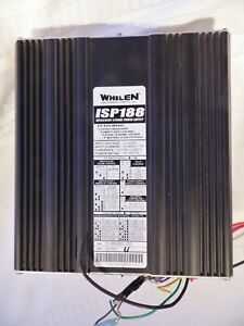 Whelen Isp188 Intelligent Strobe Power Supply With Connerctor Assembly Plugs