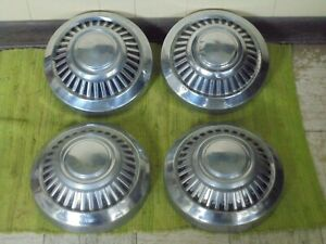 70 71 72 73 74 75 76 Dodge Truck Set Of 3 Dog Dish 12 Hubcaps Pickup 3 4 1 Ton