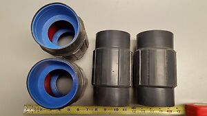 lot Of 4 3 Coupling Pvc Coated Steel By Robroy Prcplg 3 calbond Ocal Plasti