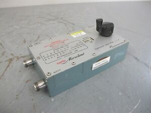 Narda Microline 3722 Variable Precision Attenuator