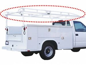 78013 Kargomaster Pro Ii Series White Ladder Rack Side Rail For 8 Extended Cab