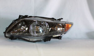 Tyc 20 6994 90 1 Left Headlight Assembly For 2009 2010 Toyota Corolla To2502183