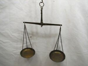 Hammel Ridgelander Co Germany Travelers Gold Scale Apothecary Balance Weights