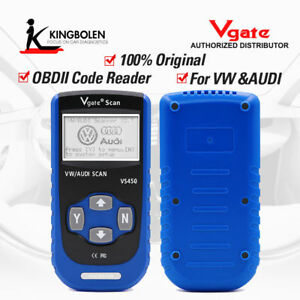 Vgate Vs450 Vag Can Obd2 Abs Srs Immobilizer Diagnostics Scan Tool For Vw Audi