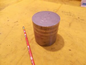 Stainless Steel Round Bar Stock Non Magnetic Tool Die Rod 3 1 4 Od X 3 1 4 Oal