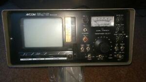 Avcom Ptr 25a Portable Test Receiver And Manual