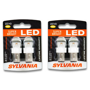 Sylvania Zevo Two 2 Packs 1157aled Led Bulb Side Marker Turn Signal Vn