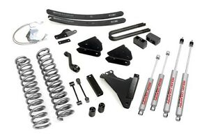 08 10 Ford F250 F350 Super Duty Diesel 4wd 6 Rough Country Lift Kit 594 20