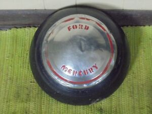 Rarest 1939 Ford Mercury In Existence Wheel Cover Hubcap