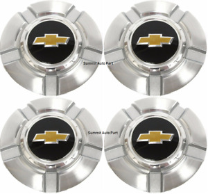 4 Chevy Silverado 1500 Tahoe 2007 2013 Chevrolet Wheel Center Hub Caps 9595989