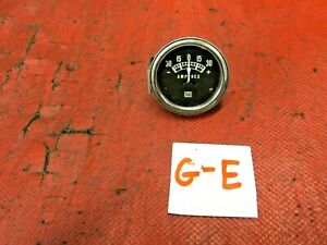 Stewart Warner Amp Gauge 0 30 Tested
