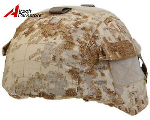 Emerson Tactical Helmet Cover w Pouch for MICH 2000 ACH Helmet Airsoft Military