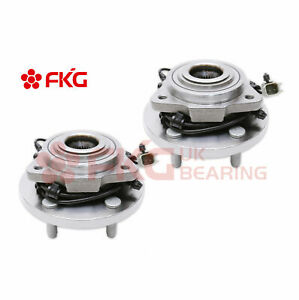 2 Front Wheel Bearing Hub For Jeep Grand Cherokee Commander 3 0l 3 7l 4 7 513234