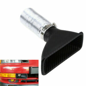 Car Bumper Cold Air Intake Pipe Filter Injection System Funnel Kits Universal