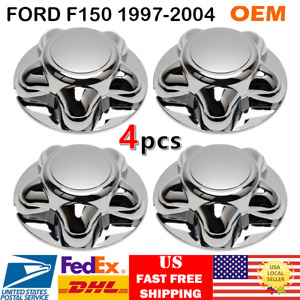 4pcs For 1997 2004 Ford F150 Center Cap Chrome Expedition Hub Wheel