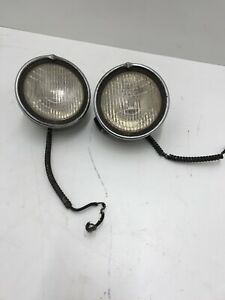Cowl Lights Vintage 1920s 1930s Original Great Patina Ratrod