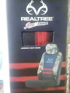 2 Realtree Americana Edge Camo Universal Seat Covers Free Shipping