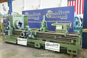 30 X 120 Used Kingston Oil Country Engine Lathe Heavy Duty Engine Lathe With