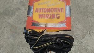 Ford Nos Wiring Harness 1937 1938 1939 1940 1941 Hot Rod Parts