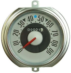 1951 1952 Ford Truck Speedometer Complete Cluster Replaces Ford 1c 17255 A New