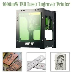 Diy Cutter Printer Neje Dk 8 kz 3d 1000mw Usb Laser Engraving Cutting Machine Us