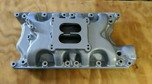 Offy Offenhauser Intake Ford 351w Mustang Shelby Cobra Cougar F250 408 414 427