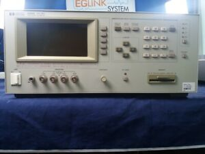 Agilent 4284a Lcr Meter Hp Brand With Opt 001 006