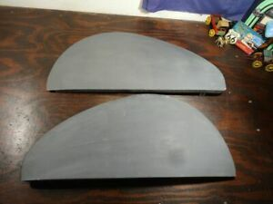 Pair Nos Teardrop Fender Skirts Cadillac Chrysler Chevy Packard Nash More Sk141